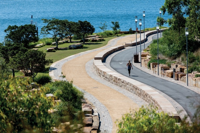 Barangaroo Reserve by PWP Landscape Architecture and Johnson Pilton Walker.