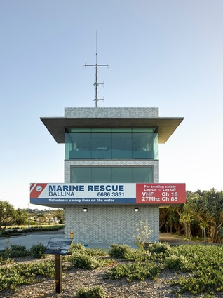 Ballina Sea Rescue Tower, Ballina by DFJ Architects.
