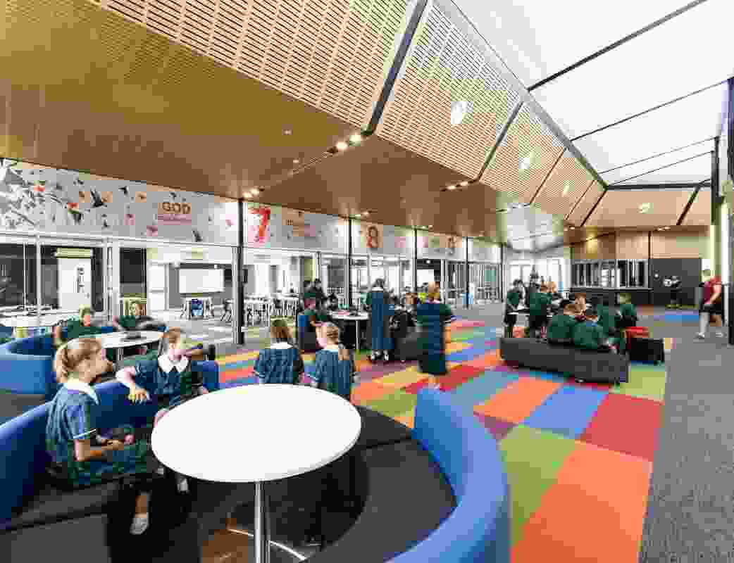 St Luke's Anglican School, Middle School Precinct by McLellan Bush Architects.