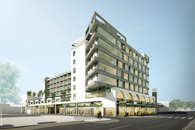 The James Street Hotel, drawing from the design language found throughout the precinct, is due to be completed in 2018.