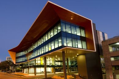 2013 Public Architecture Award winner: Flinders Centre for Innovation in Cancer by Woodhead.