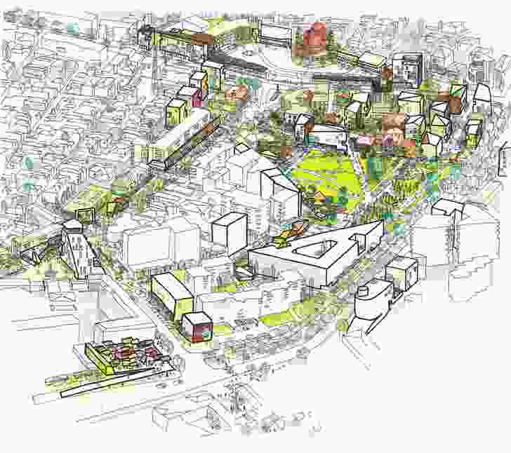 Korça City Centre Masterplan.