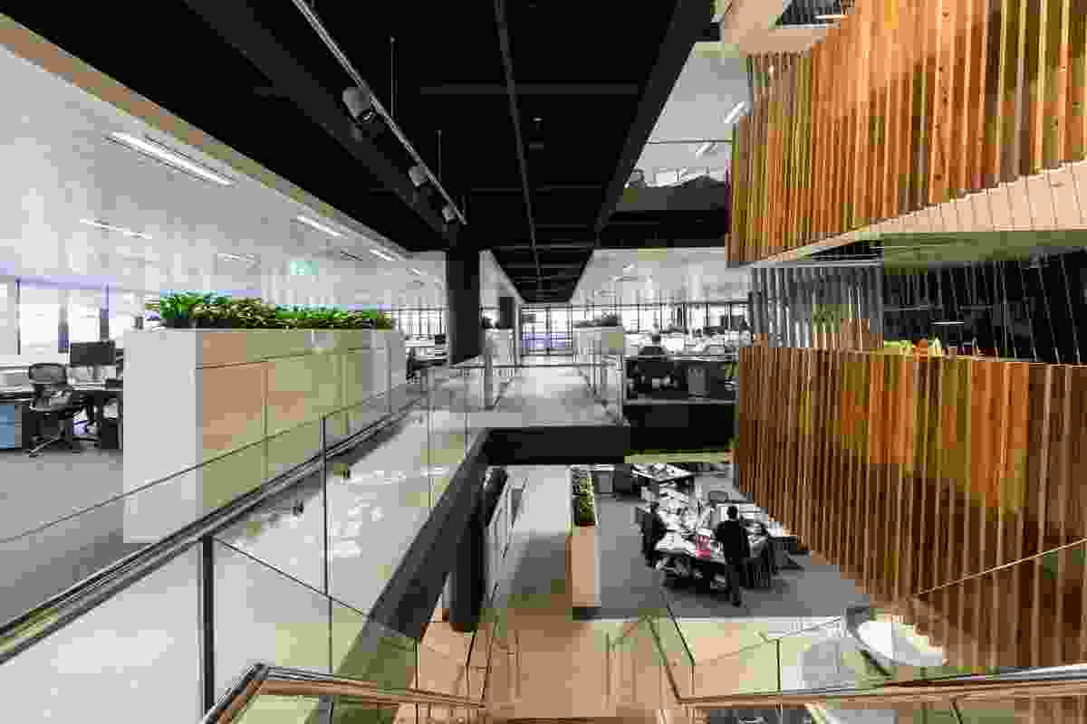 TransGrid Sydney Office by Bates Smart, recipient of the 2015 Sustainability Advancement Award.