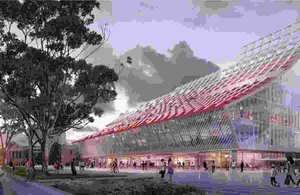 5 Parramatta Square by Manuelle Gautrand Architecture, Designinc and Lacoste and Stevenson.