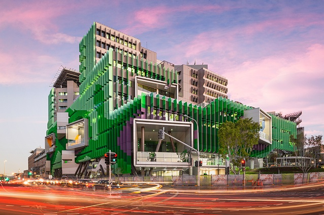 Lady Cilento Children's Hospital by Conrad Gargett and Lyons Architecture.