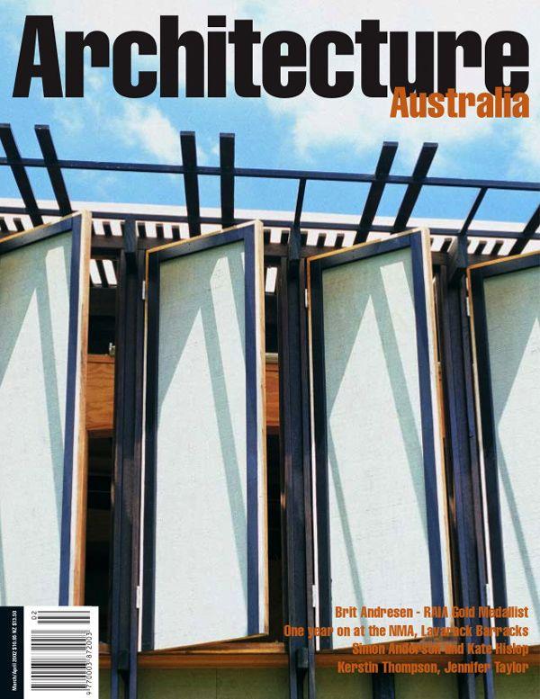 Architecture Australia, March 2002