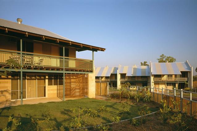 Defence Housing Australia housing at Coonawarra, Darwin, NT, 1992.