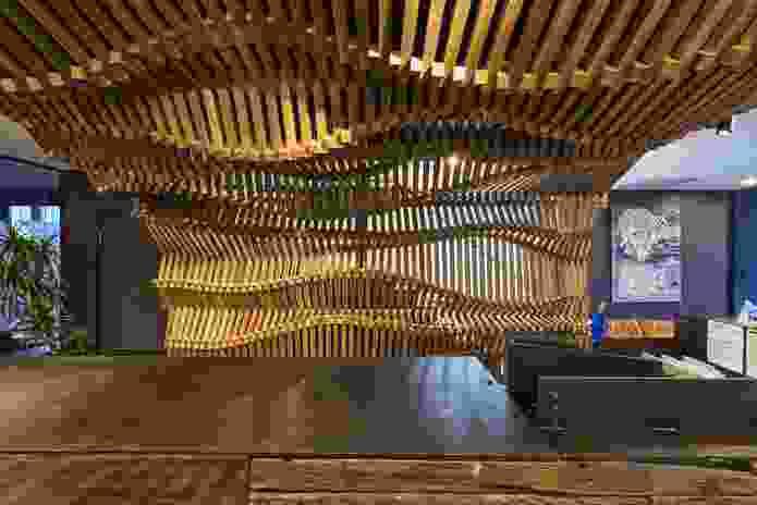 CONDEV Reception Space by Studio Workshop.