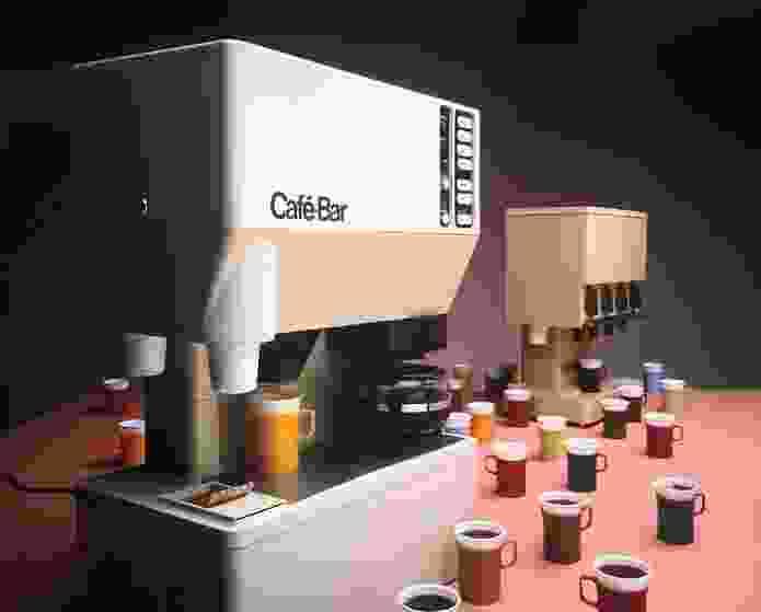 Cafe Bar, designed in 1974 by Nielsen Design Associates.