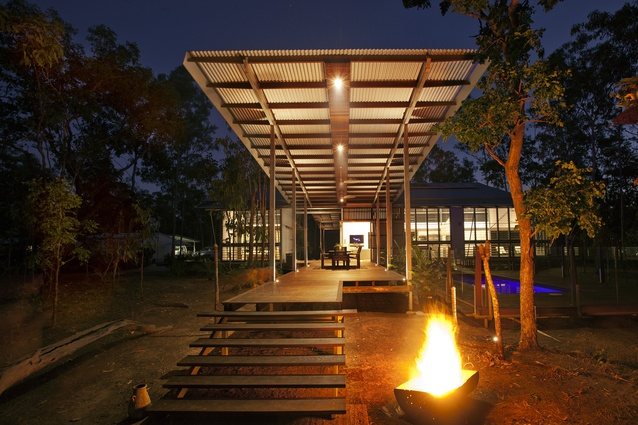 Tales from the top end architectureau for Bush house designs