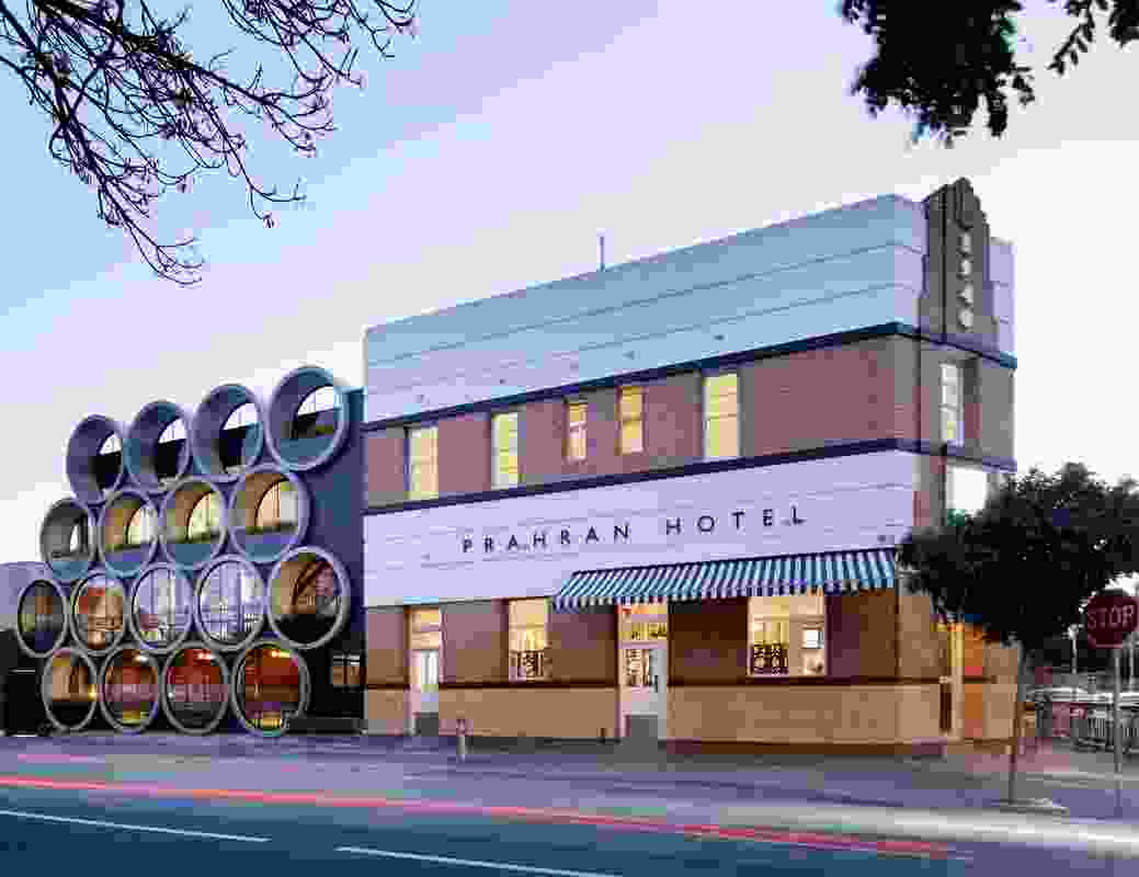 Prahran Hotel (Vic) by Techne Architects.