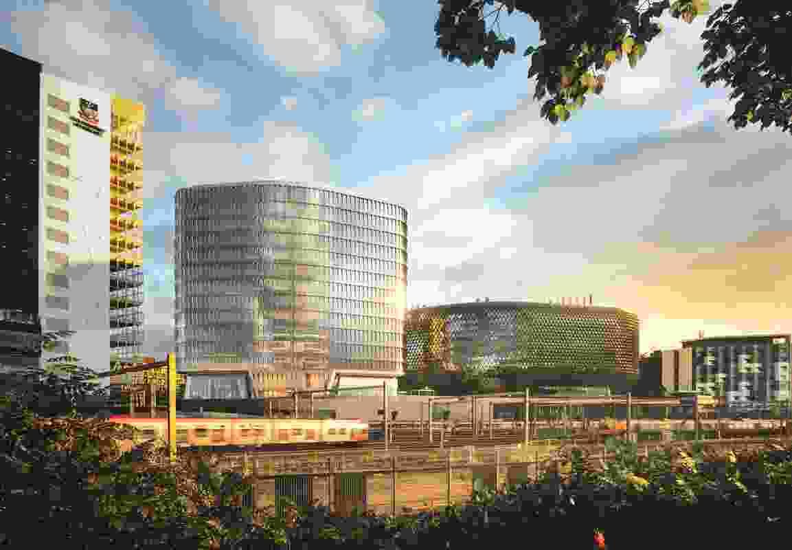 SAHMRI II, designed by Woods Bagot, is set for construction.