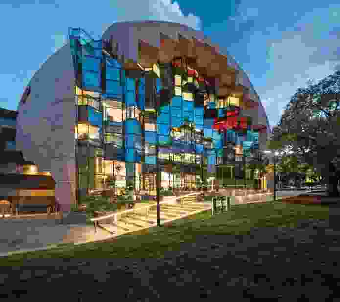 Geelong Library and Heritage Centre by ARM Architecture.