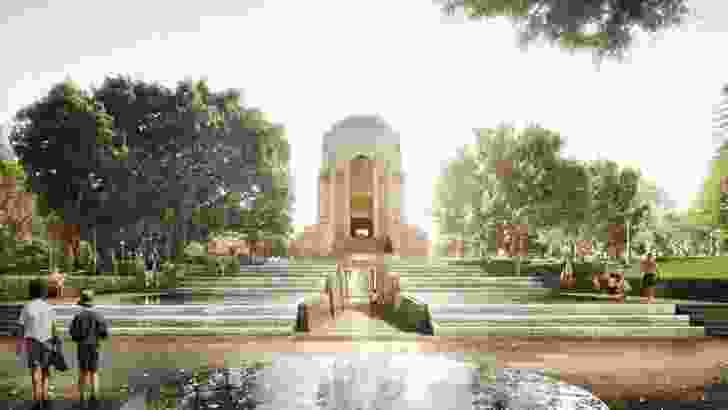 The redevelopment of Anzac Memorial Hyde Park by JPW and Government Architect NSW.