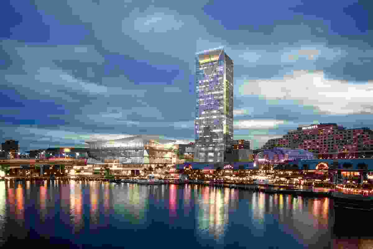 International Convention Centre, Sydney, by Hassell/Populous.