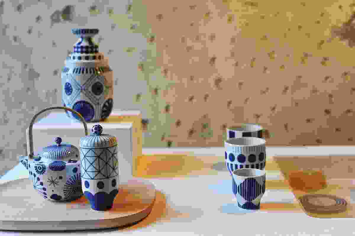 These spectacular ceramics were a collaboration between Hayón and Choemon in Japan.