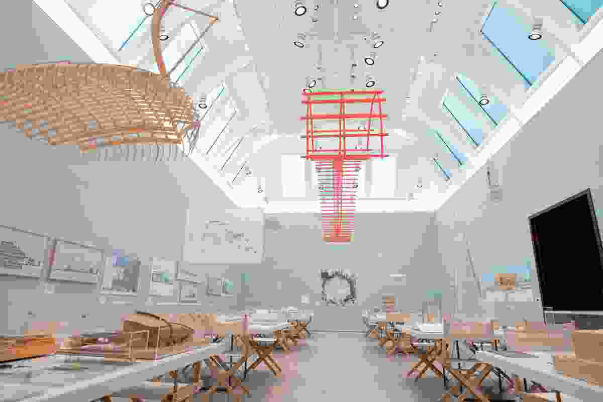 Installational views of Renzo Piano's exhibition, organised by the Royal Academy of Arts, London, in collaboration with Renzo Piano Building Workshop and the Fondazione Renzo Piano.