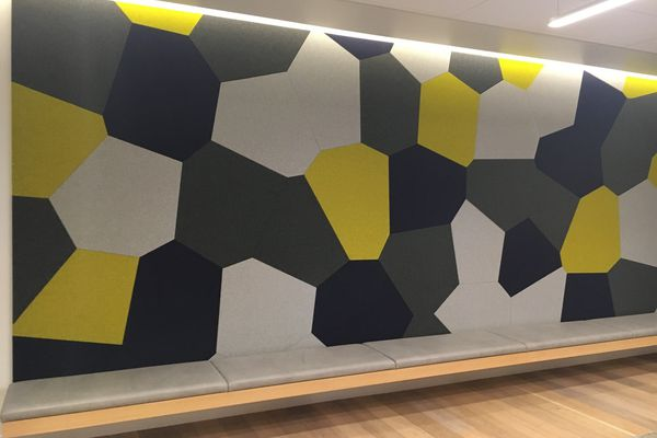 Novawall fuses an acoustic solution with an aesthetic one