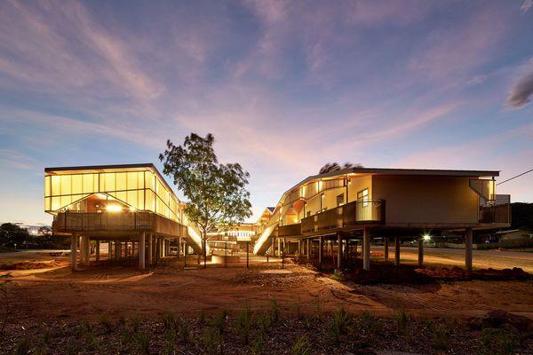 The Walumba Elders Centre by Iredale Pedersen Hook in Warrmarn, Western Australia.