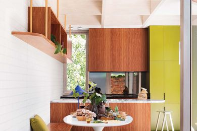 The kitchen and living areas are filled with colour and texture, which makes this a home of unmatched vibrancy and energy.