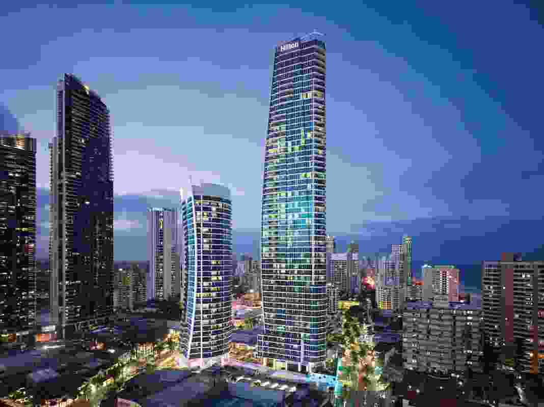 Hilton Surfers Paradise Hotel and Residences by The Buchan Group was host venue for the 2012 Gold Coast / Northern Rivers Regional Architecture Awards.