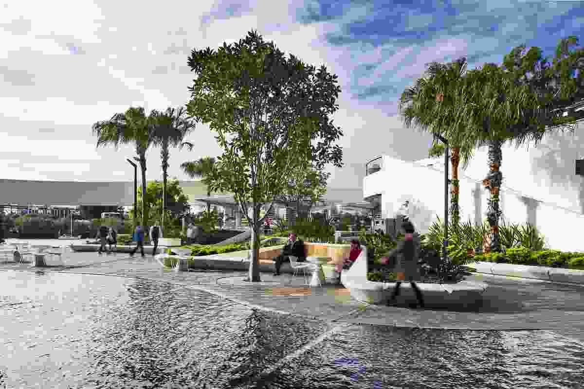 Riverside Centre Revitalisation by 360 Degrees Landscape Architects.