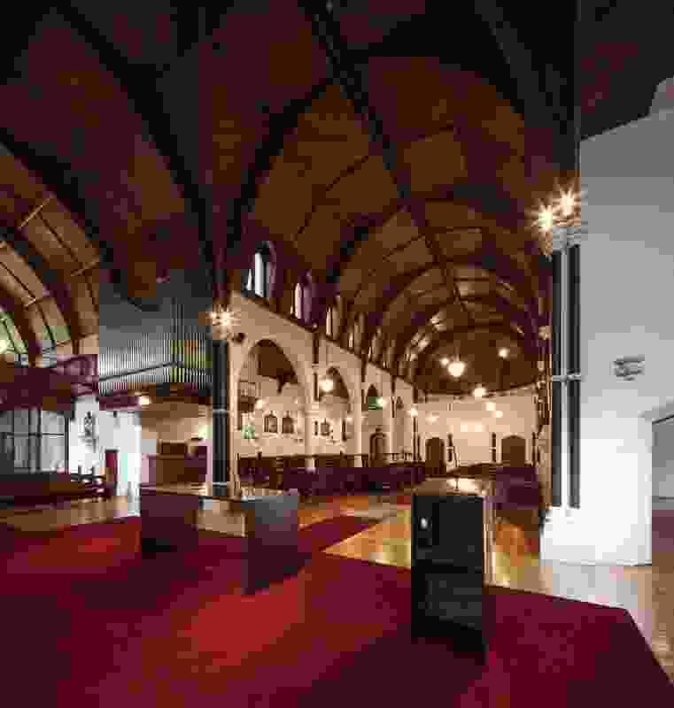 Good Shepherd Chapel, Abbotsford – Robert Simeoni Architects.