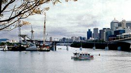 "[<i>""I never forget that I am a Provincial."" Peter Cook, The London Effect, 1989.</i>, <br />, <br />, <b>Brisbane's South Bank, despite its cheerful newness, has</b>]""                 width=""270""                 height=""151"" />              </div>              <p class="