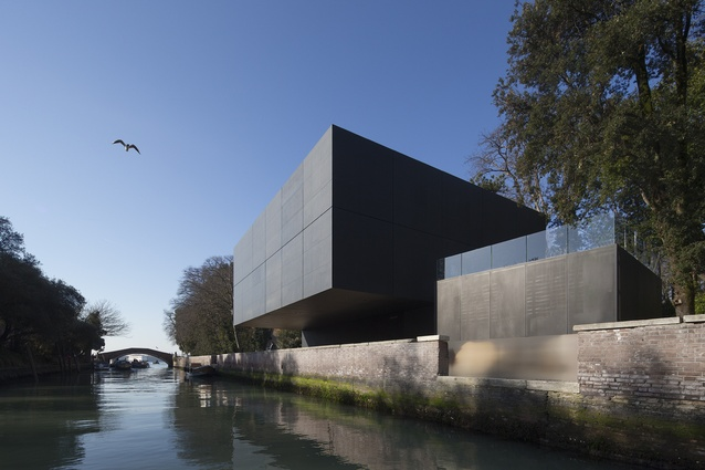 The Australian Pavillion at the Giardini della Biennale by Denton Corker Marshall.