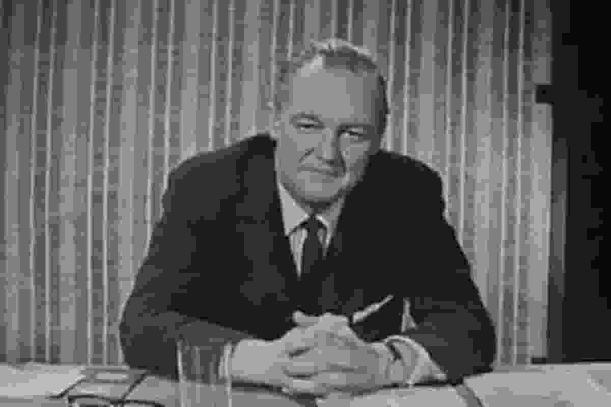 Robin Boyd a still image from the film.