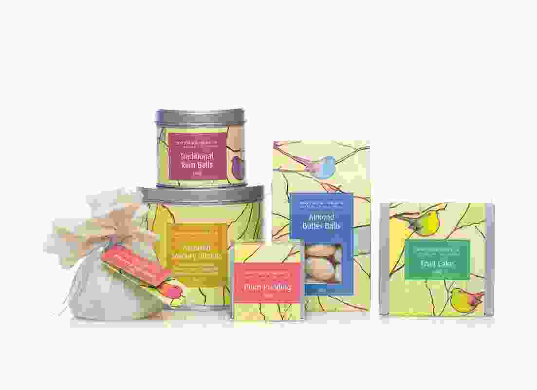 Mother Meg's fine food seasonal gift range.