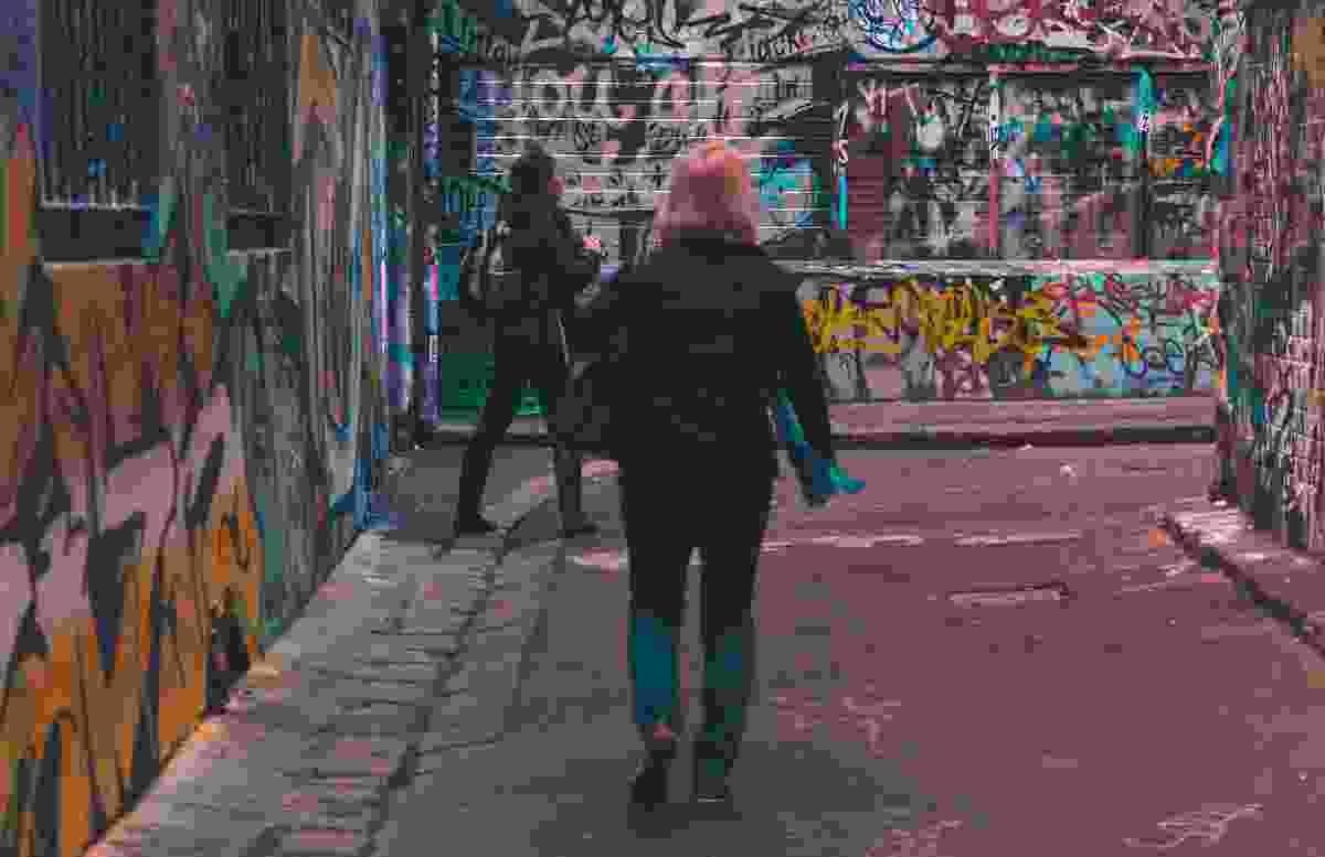 Melbourne's Hosier Lane.
