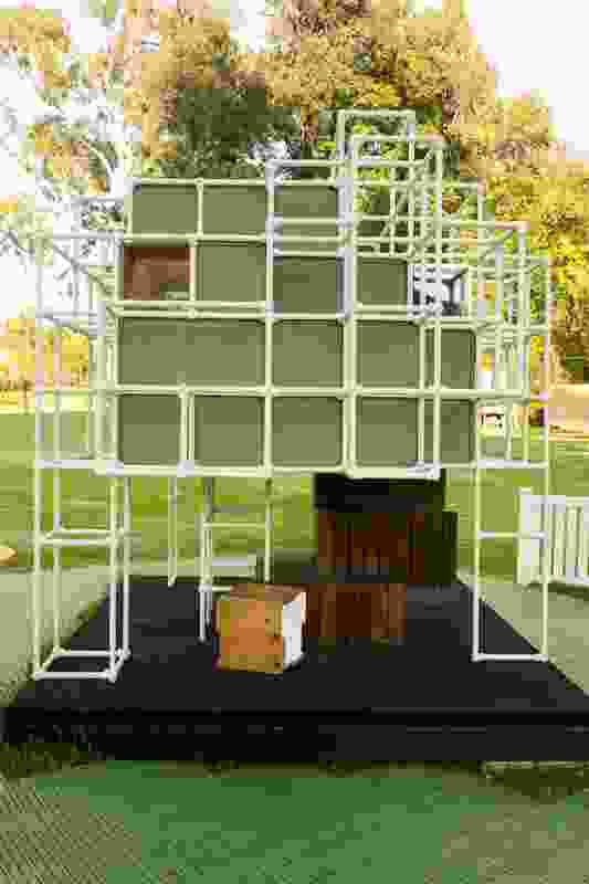 Cubey House by Arkhefield and Grocon.