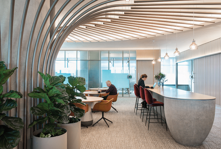 PWC Sydney Client Collaboration Floors by Futurespace.
