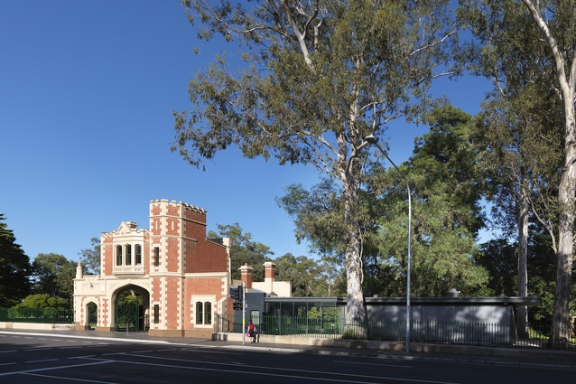 George Street Gatehouse - Parramatta Park by NSW Government Architect's Office.