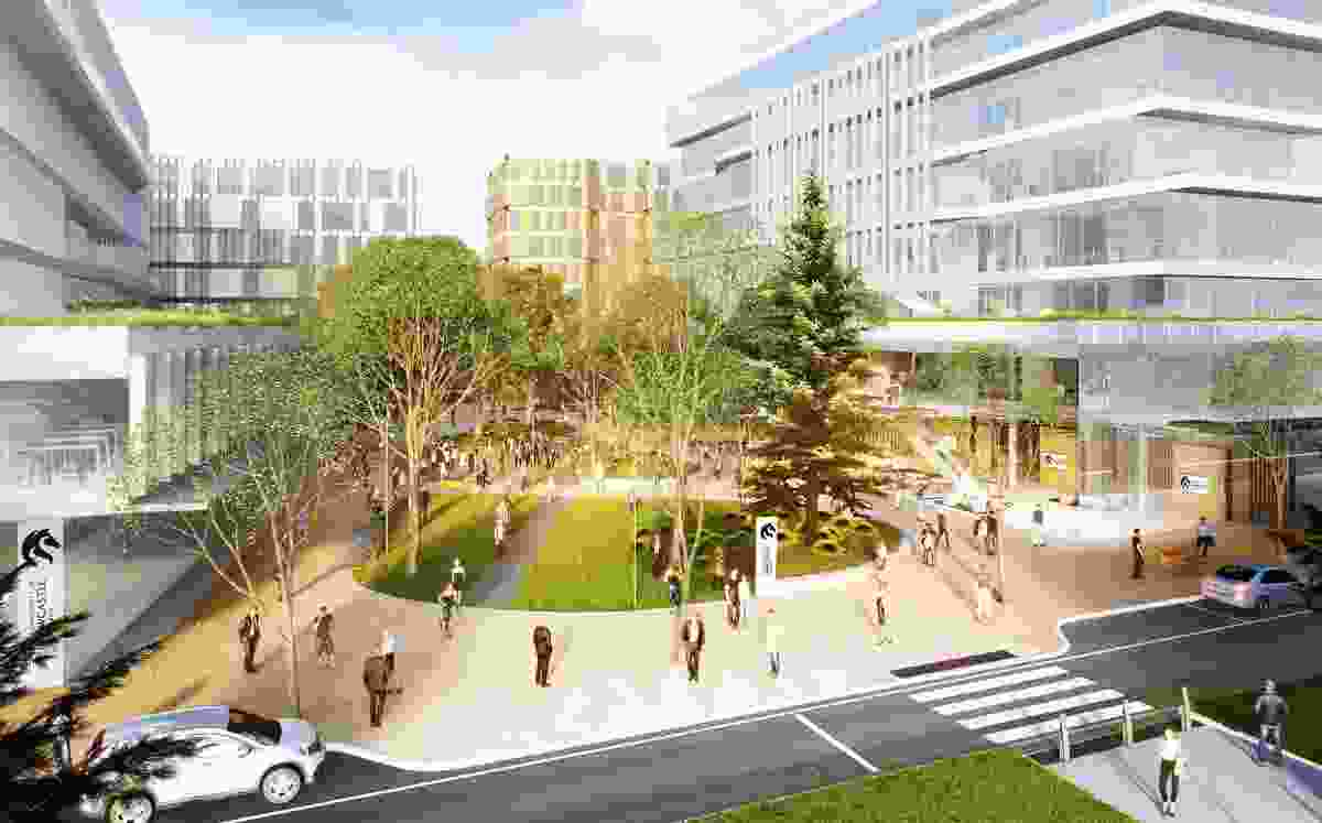 University of Newcastle masterplan by Cox Architecture.