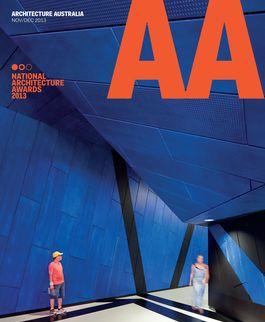 Architecture Australia, November 2013