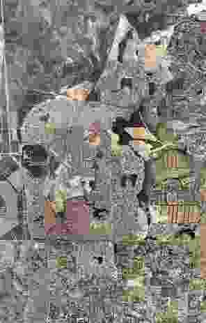 An aerial view of Ellenbrook estate.