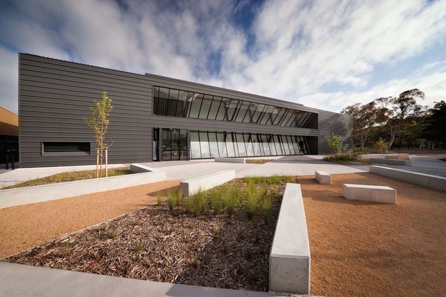 Canberra College Performing Arts Centre by BVN Donovan Hill.
