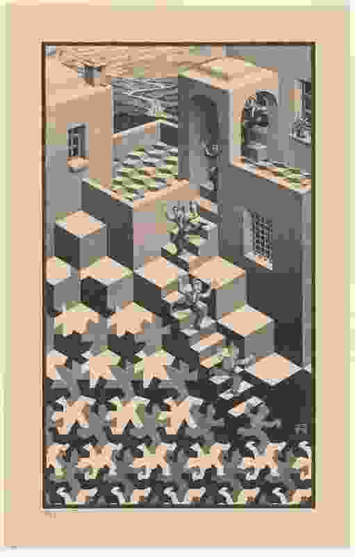 Cycle by M. C. Escher.