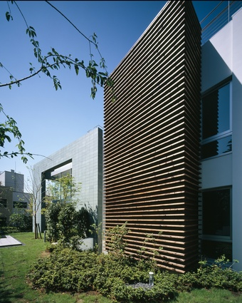 M Residence (2004), a private residence in Daikanyama, Tokyo.