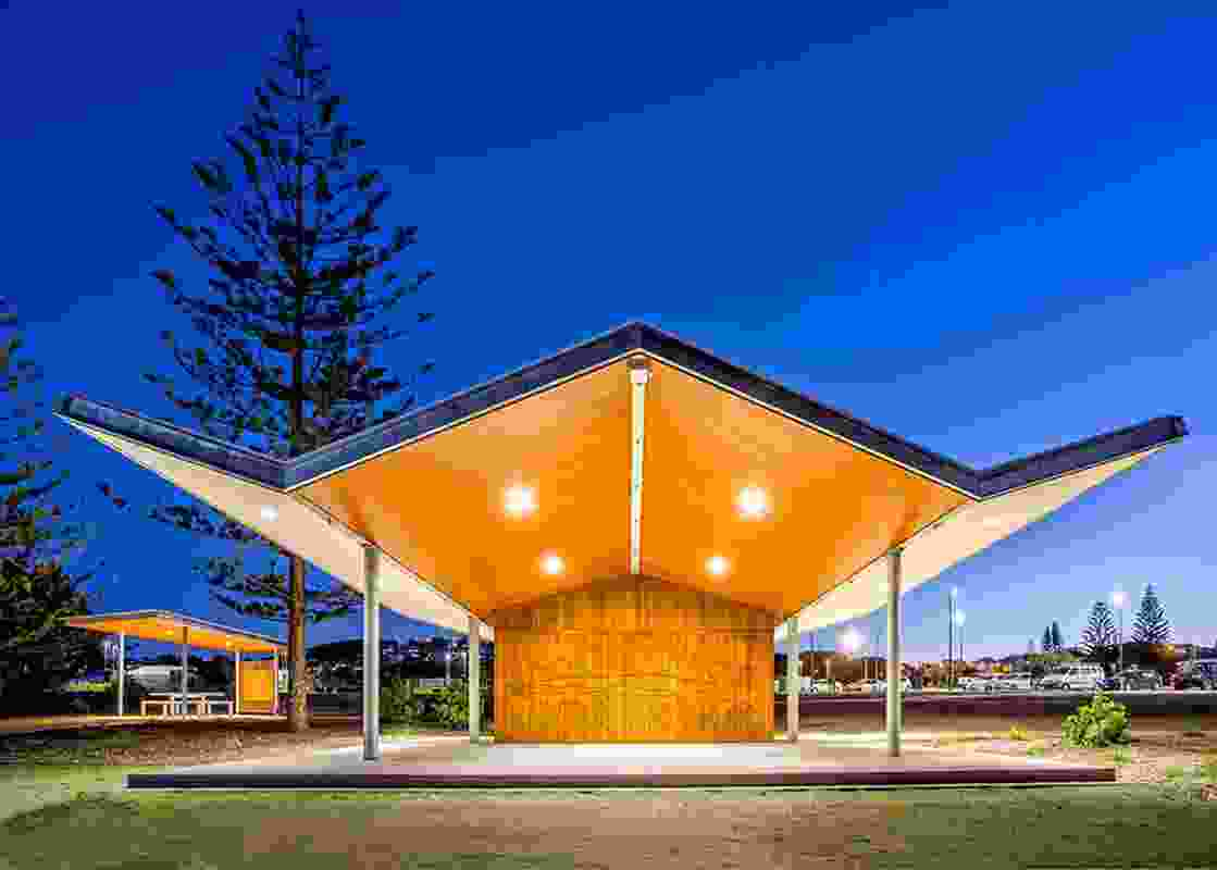 CSU Barraameilinga Indigenous Student Centre by Havenhand and Mather Architects.