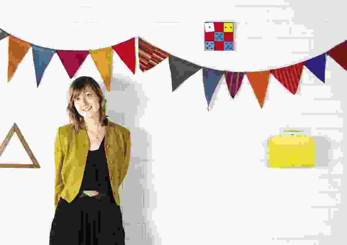 Kate stokes in her studio in melbourne.