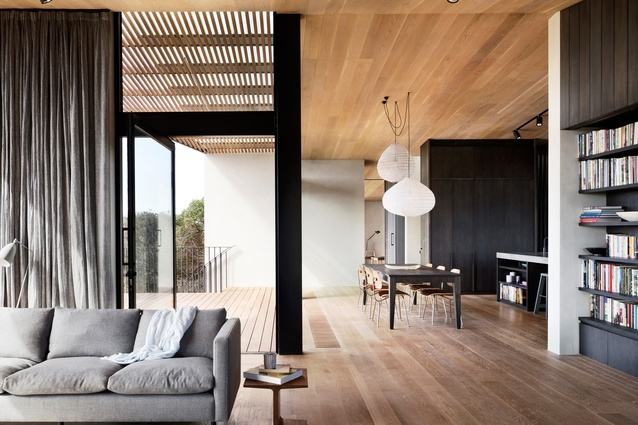 Barwon Heads House by Lovell Burton Architecture.