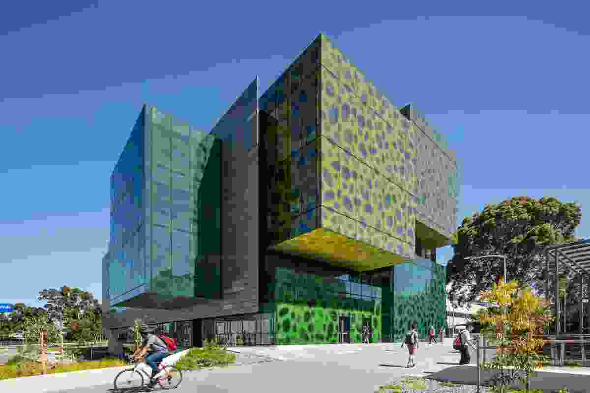 Biomedical Learning and Teaching Building, Monash University by Denton Corker Marshall.