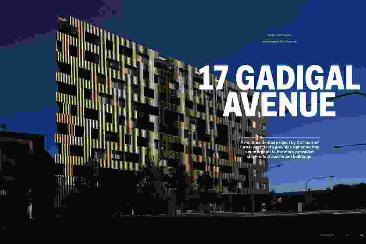 17 Gadigal Avenue by Collins and Turner Architects.