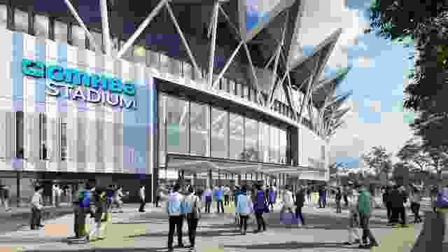 Kardina公园,或GMHBA体育场,第五阶段由Populous and Urbis重新开发。