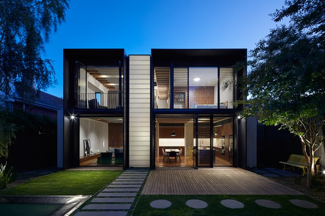 Fawkner Street by Workshop Architecture.