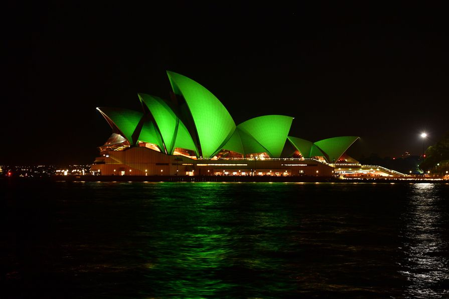 The Sydney Opera House has been awarded a 5-star Green Star performance rating.