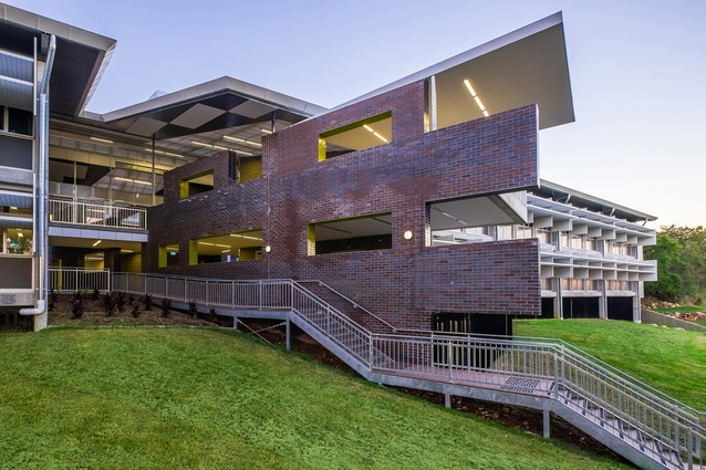 Cavendish Road State High School Year 7 Centre by Arklab Architecture.